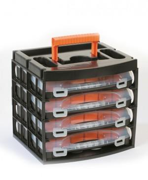 جعبه پیچ و مهره پلاستیکی پورتبگ - portbag - - کیف ابزار - جعبه ابزار