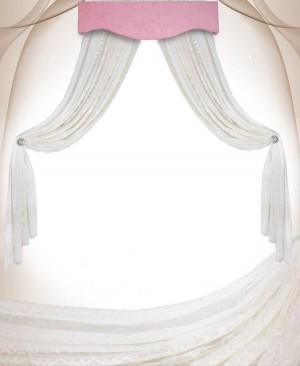 حریر بالای تخت - پرده اتاق - آپادانا - تولیدی کنند سرویس مبلمان اتاق نوزاد - کودک و نوجوان