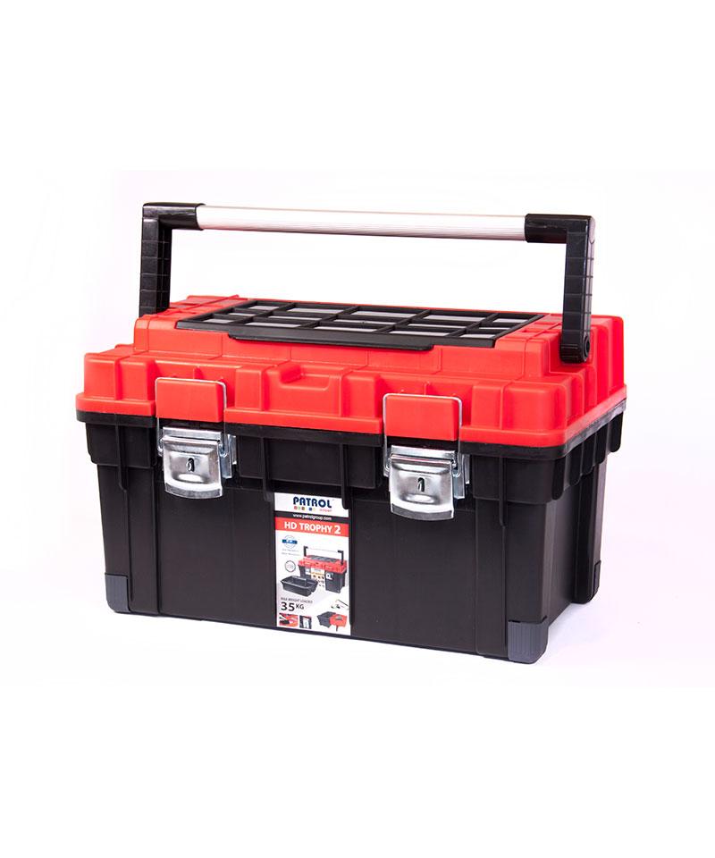 جعبه ابزار پلاستیکی حرفه ای پاترول